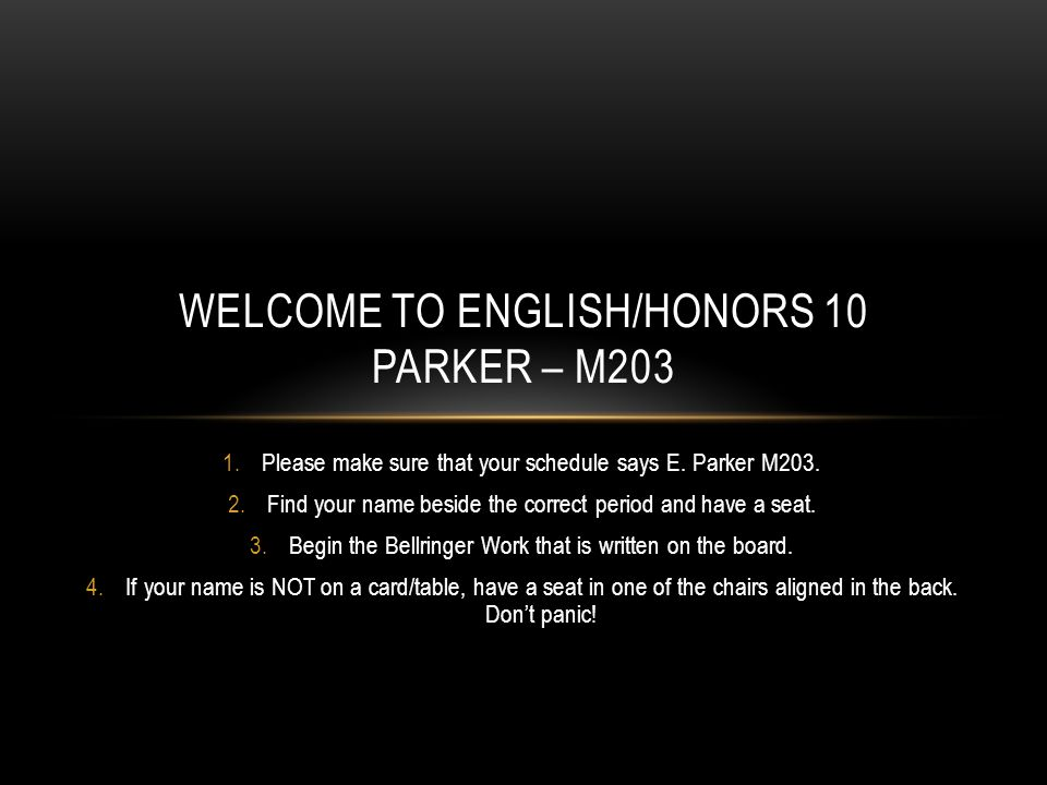 WHO IS MRS.PARKER. She has 15 years certified teaching experience.