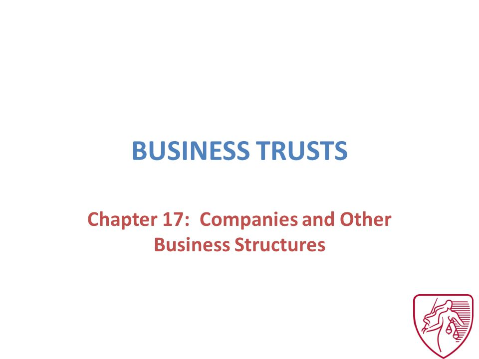 MEANING AND USES Four characteristics: – Created by founder, donor or settlor – Assets under control of another (trustee) – During the founders lifetime = inter vivos, on the founders death = mortis causa – Purpose is to benefit third persons (beneficiaries)