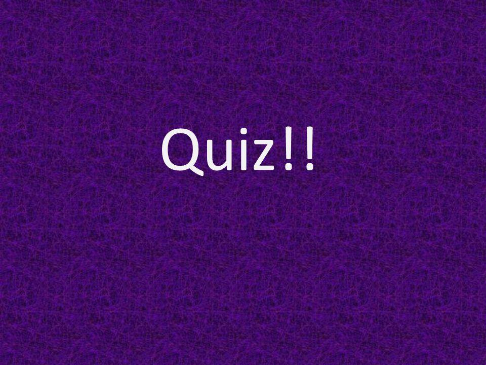 Quiz!!