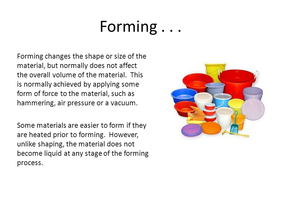 Forming...
