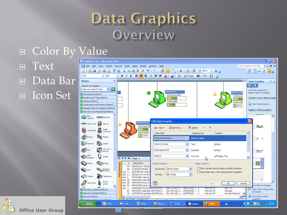  Color By Value  Text  Data Bar  Icon Set