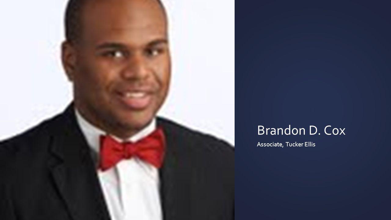 Brandon D. Cox Associate, Tucker Ellis