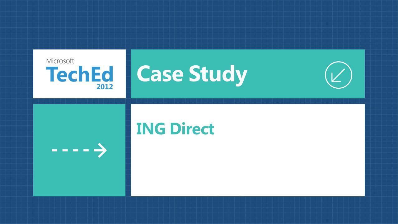 Case Study ING Direct