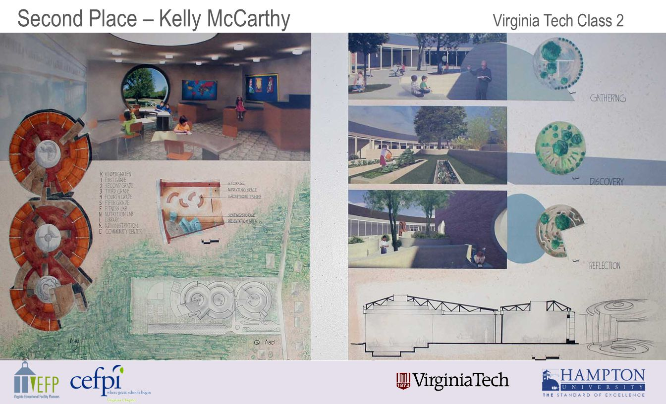 Second Place – Kelly McCarthy Virginia Tech Class 2