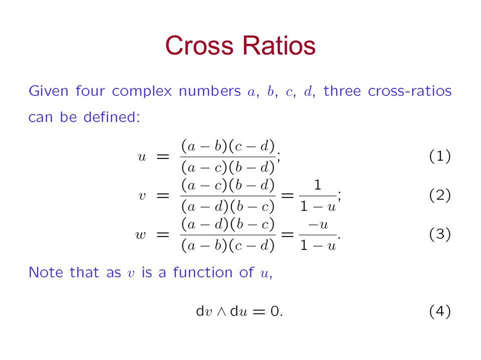 Cross Ratios