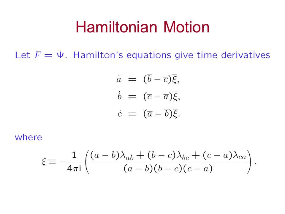 Hamiltonian Motion