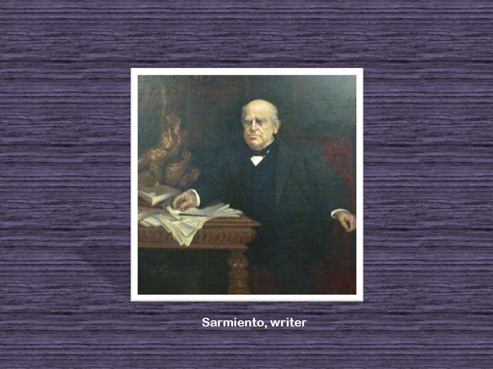 Sarmiento, writer