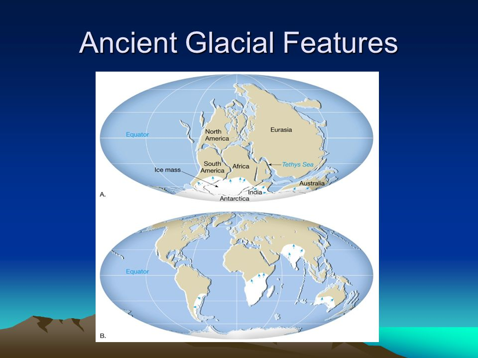 Ancient Glacial Features