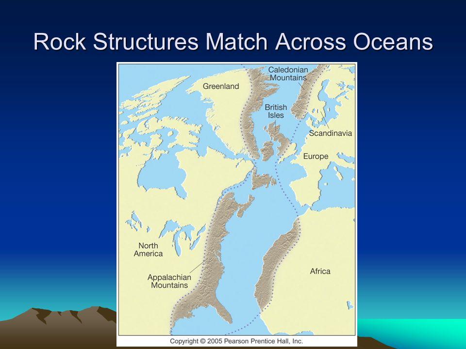 Rock Structures Match Across Oceans