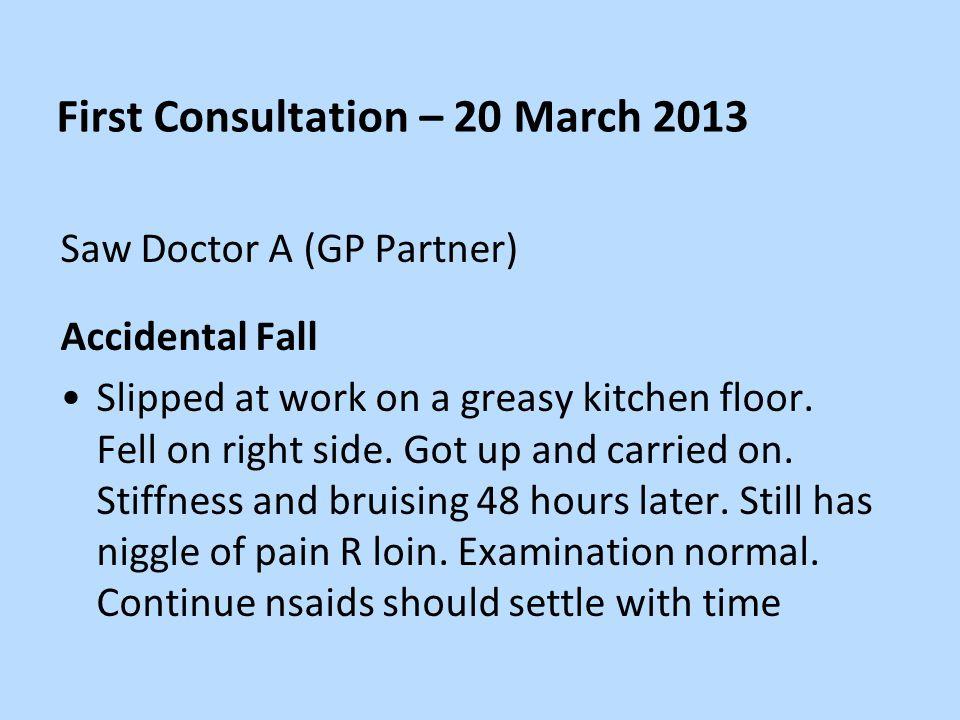 Consultation No.