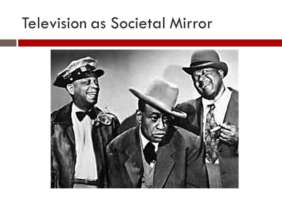 Television as Societal Mirror