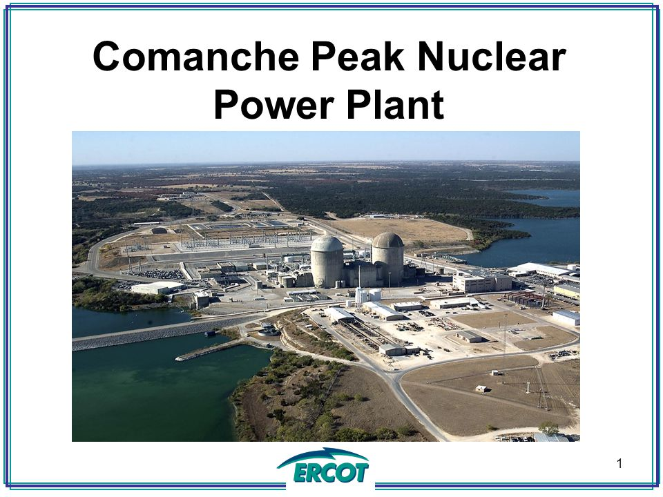 TERMINAL OBJECTIVES Describe Comanche Peak Design Basics Describe Nuclear Fuel used at Comanche Peak Describe the Basics of Nuclear Fission and identify how Comanche Peak produces power 2