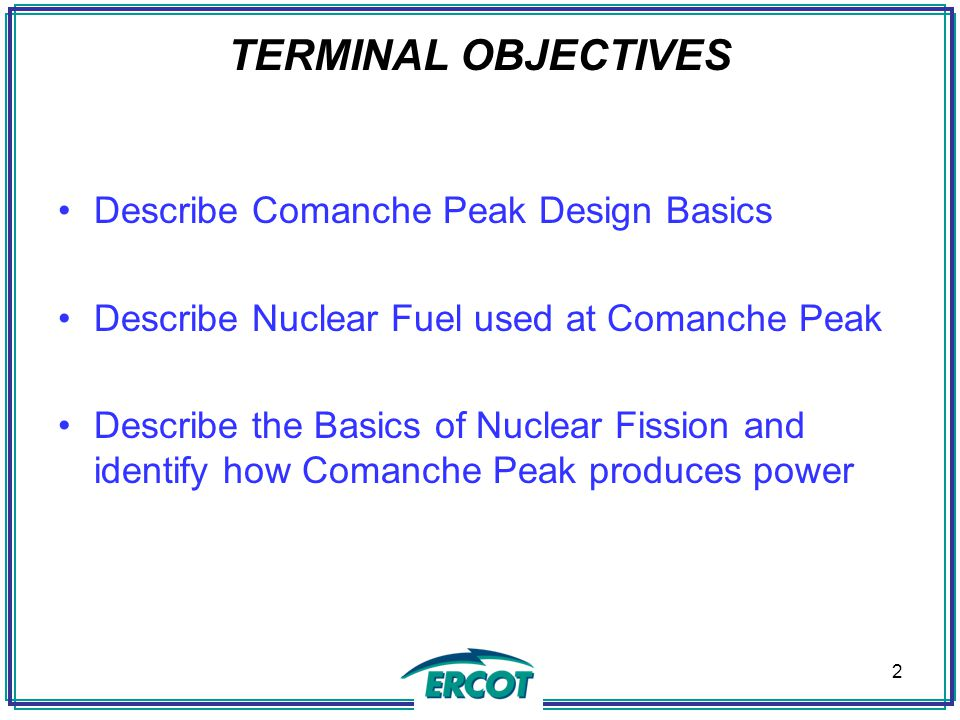 NUCLEAR DESIGN BASIS ACCIDENTS (DBA) A DBA represents the worst case possible accident within an accident category.