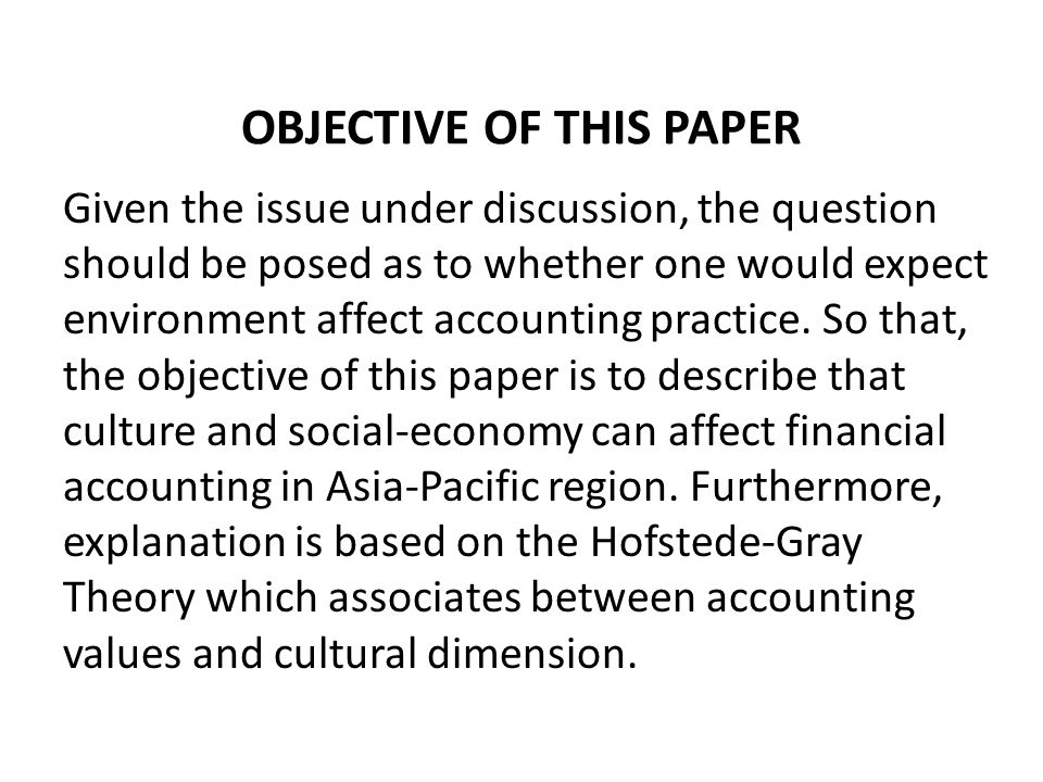 RELATED LITERATURES Several theories of their more immediate causes have been proposed, particularly in the international accounting literatures.
