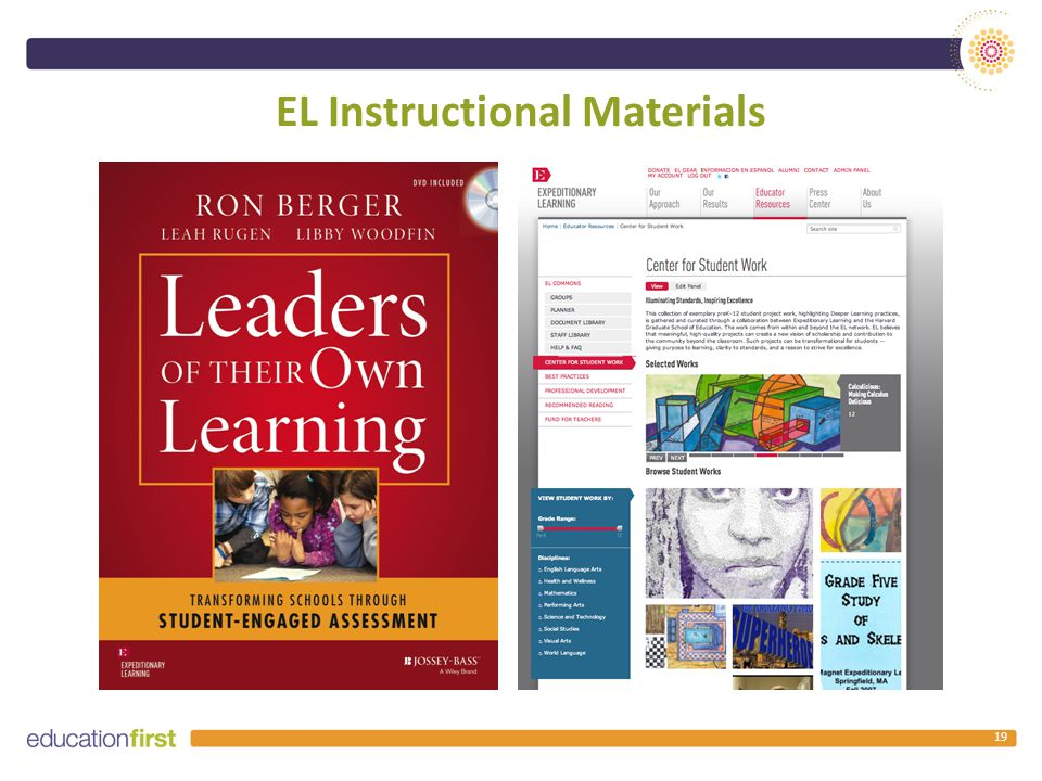 EL Instructional Materials 19