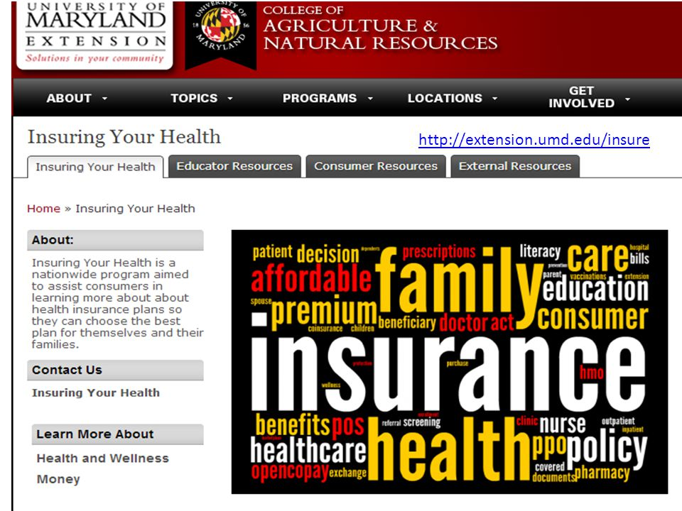 http://extension.umd.edu/insure