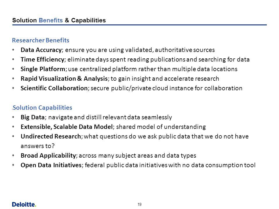 "19 Horizontal Margin (9.13"") Strapline Content Bottom Content w/out Strapline Bottom Solution Benefits & Capabilities Researcher Benefits Data Accurac"