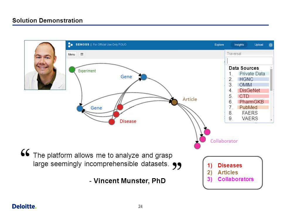 "24 Horizontal Margin (9.13"") Strapline Content Bottom Content w/out Strapline Bottom Solution Demonstration 1)Diseases 2)Articles 3)Collaborators Data"