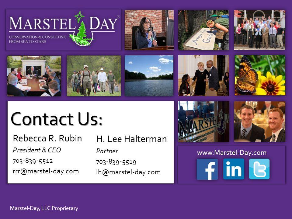Marstel-Day, LLC Proprietary www.Marstel-Day.com Rebecca R.