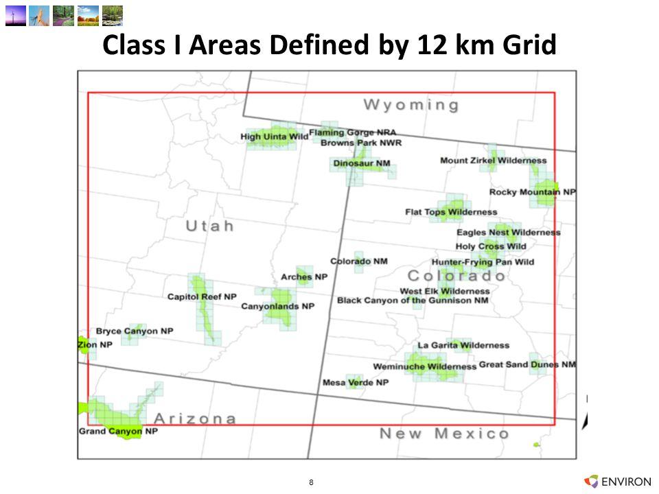 Max 24-hour Visibility – 2006 12 km UT-CO 19 CAMx vs CALPUFF/MET CAMx vs CALPUFF/MIFF CALPUFF/MET vs MIFF CALPUFF/MET: 12 km vs 4 km