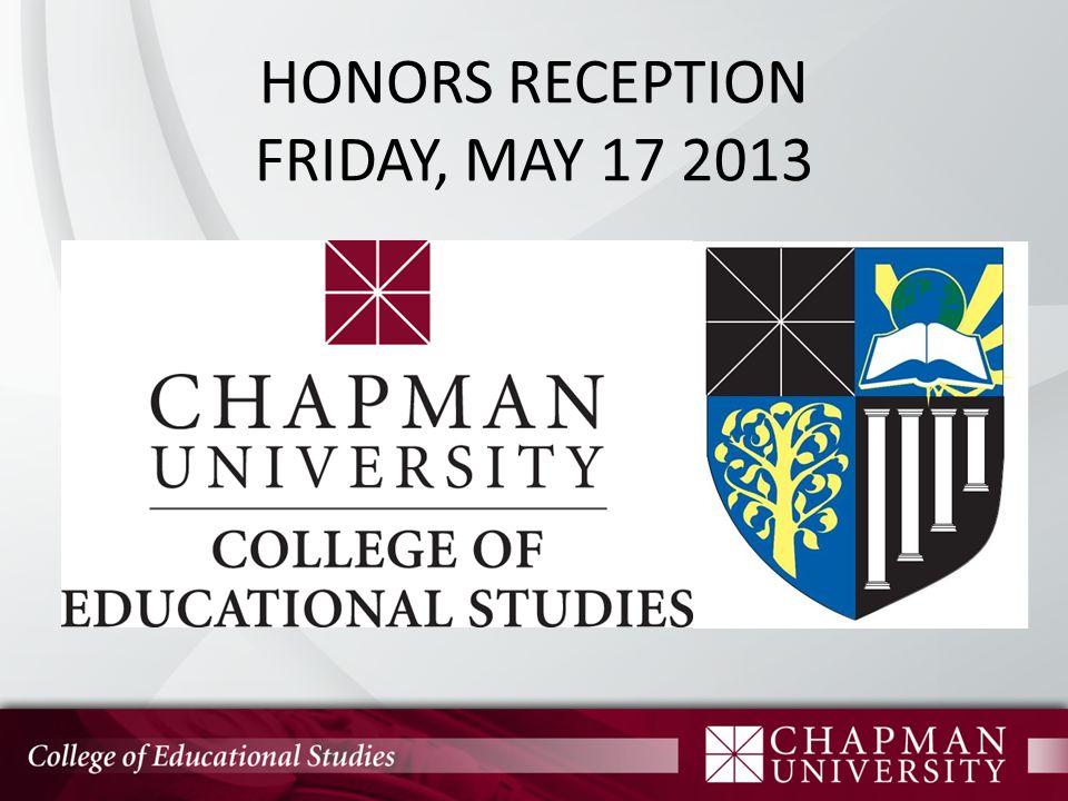 Scholarship Barbara Stansell Perpetual Award 2013 Award Winner: Brandon Nguyen