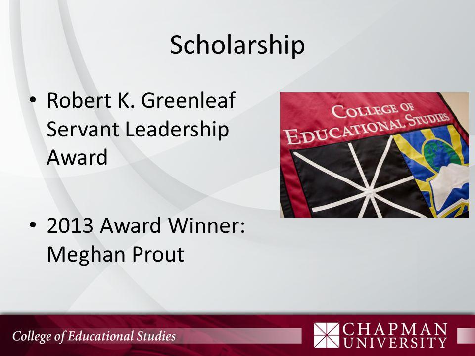 Scholarship Richard W.& Marjorie A.