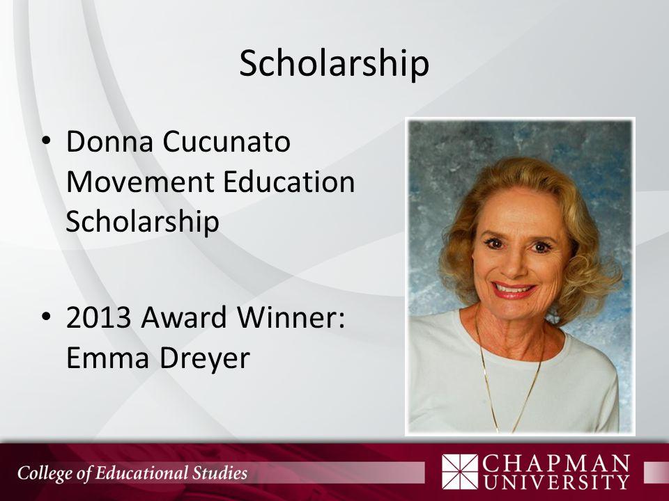 Scholarship Leo Schmidt Award 2013 Award Winner: Elizabeth Bittenbender
