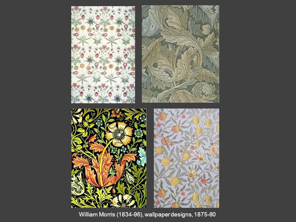 William Morris (1834-96), wallpaper designs, 1875-80