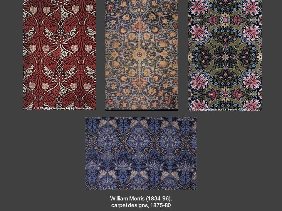 William Morris (1834-96), carpet designs, 1875-80