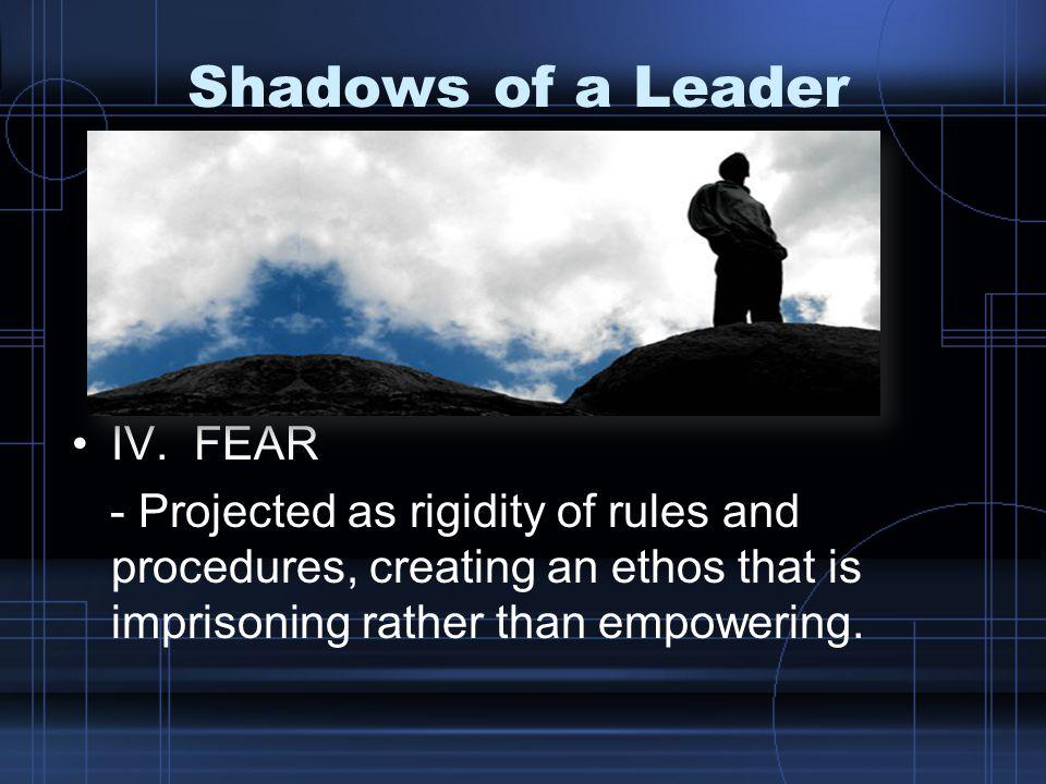 Shadows of a Leader V.DENIAL OF DEATHV.