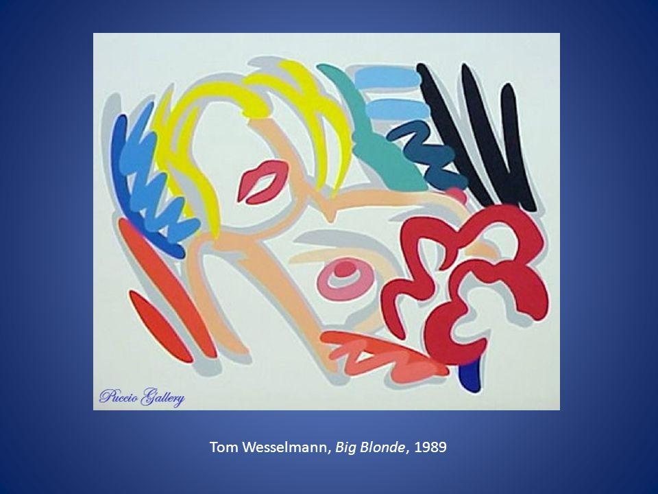 Tom Wesselmann, Big Blonde, 1989