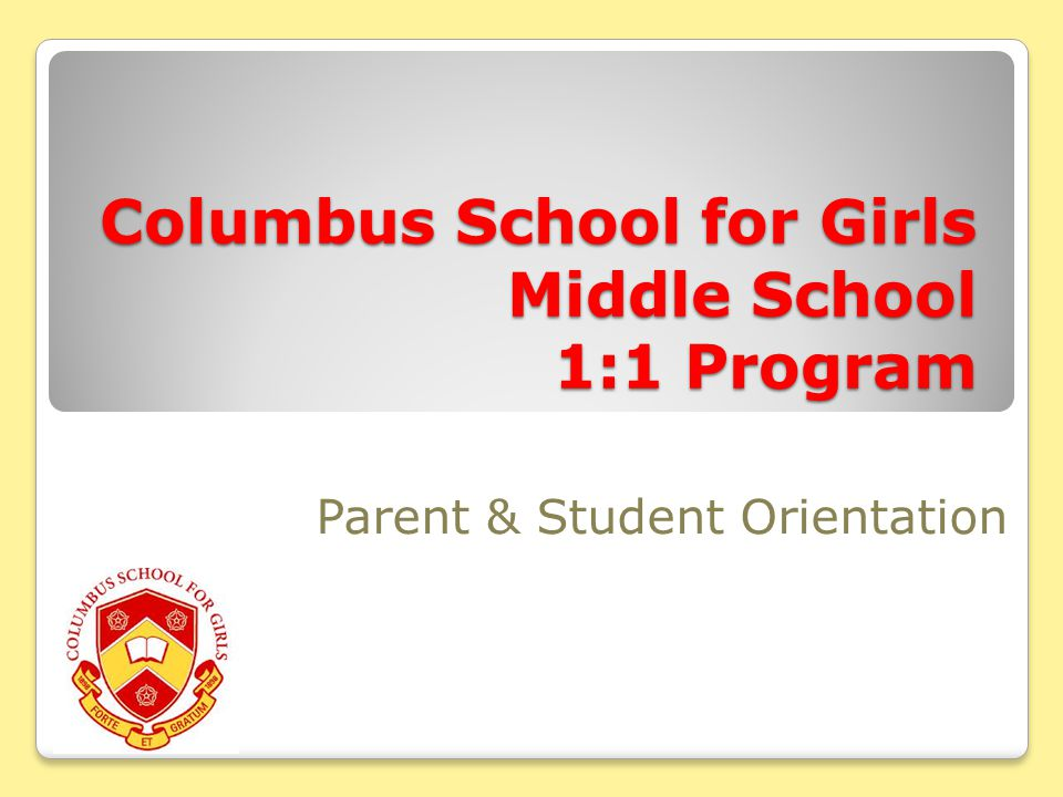 Important Resources http://www.columbusschoolforgirls.net/ms1to1/