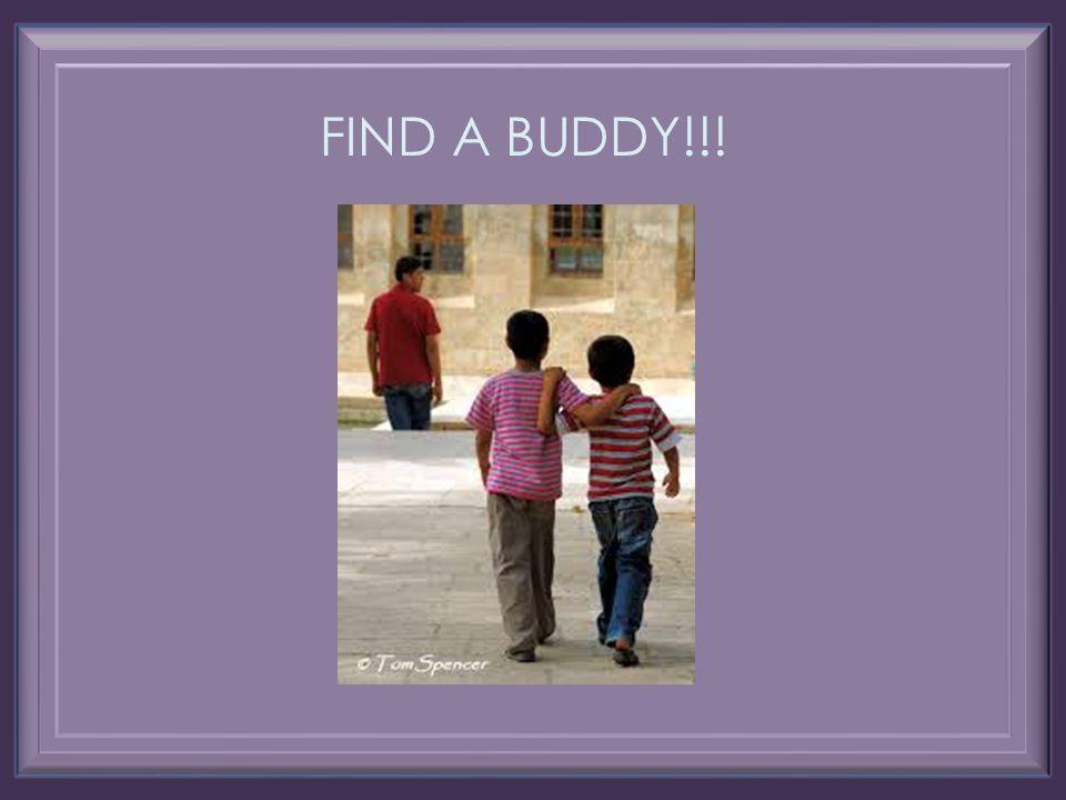 FIND A BUDDY!!!