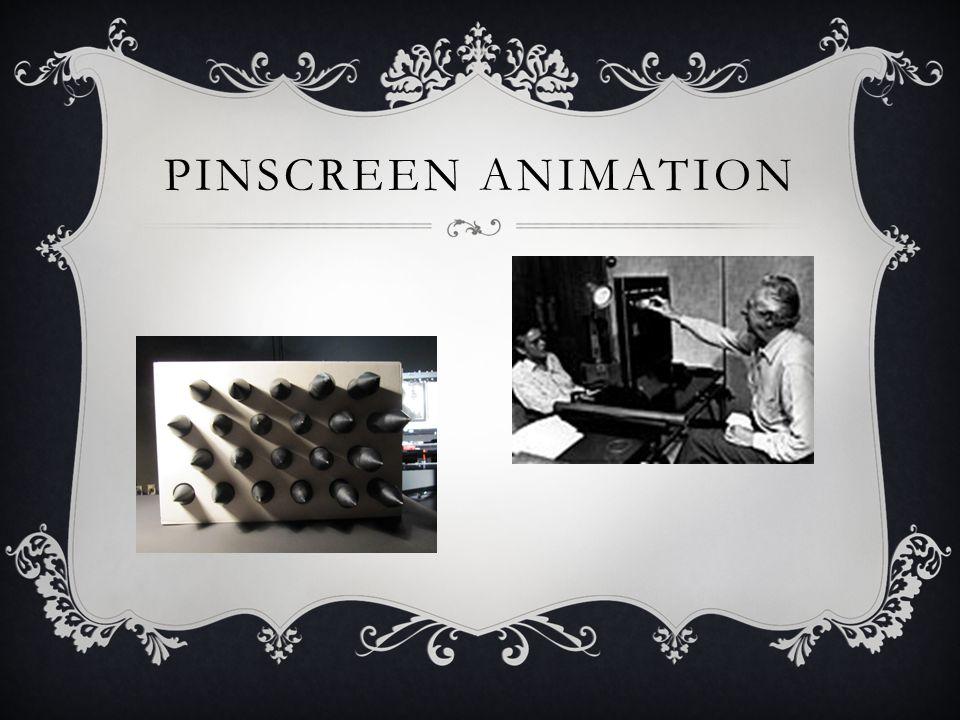 PINSCREEN ANIMATION
