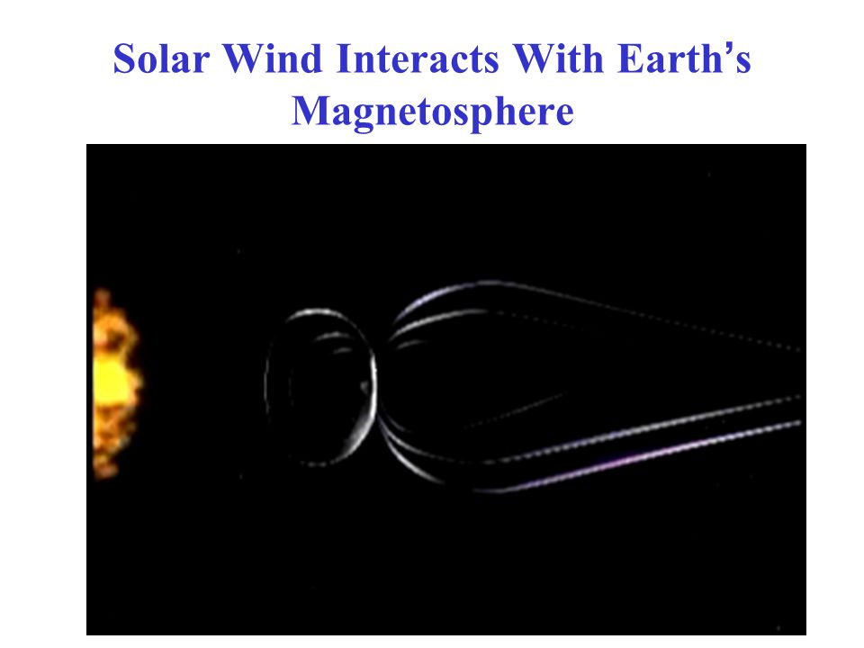 Solar Wind Interacts With Earth's Magnetosphere 9