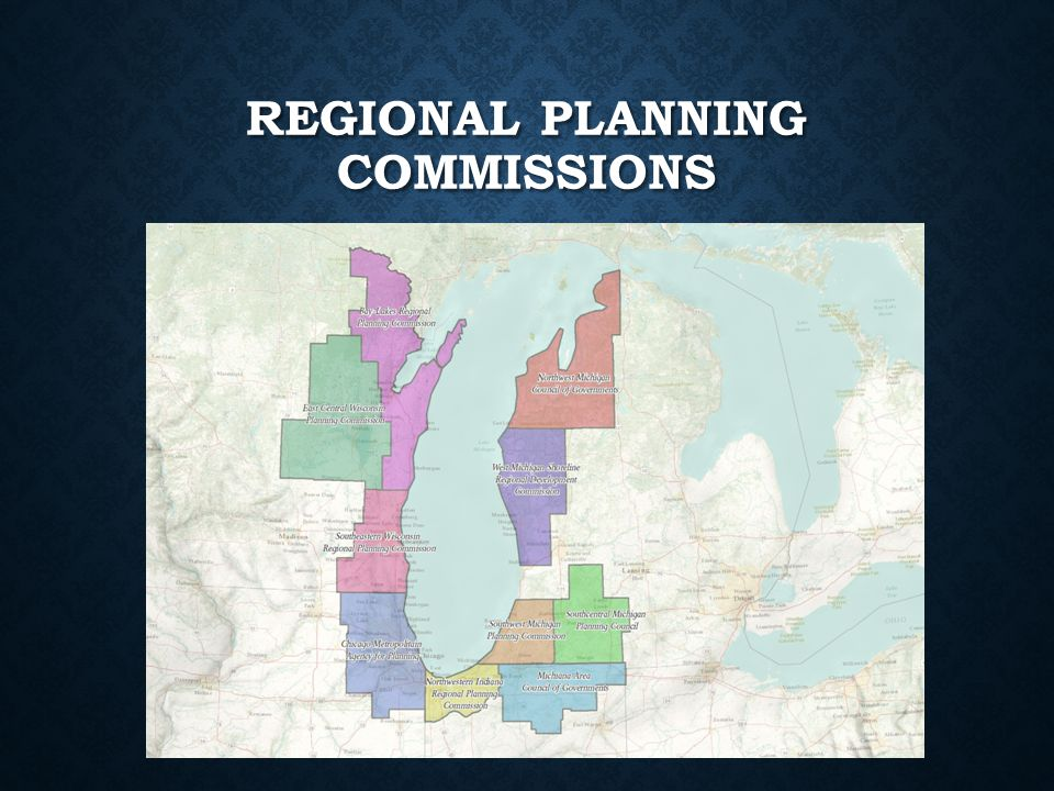 REGIONAL PLANNING COMMISSIONS