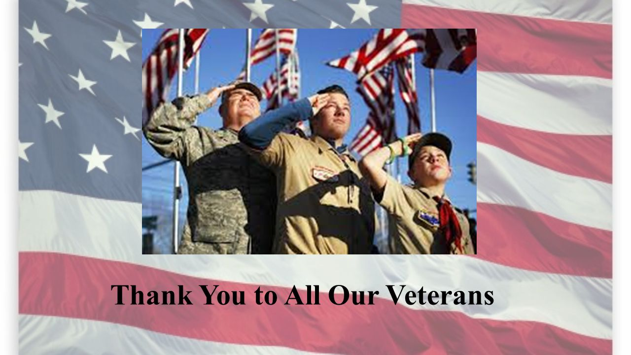 To Our Veterans