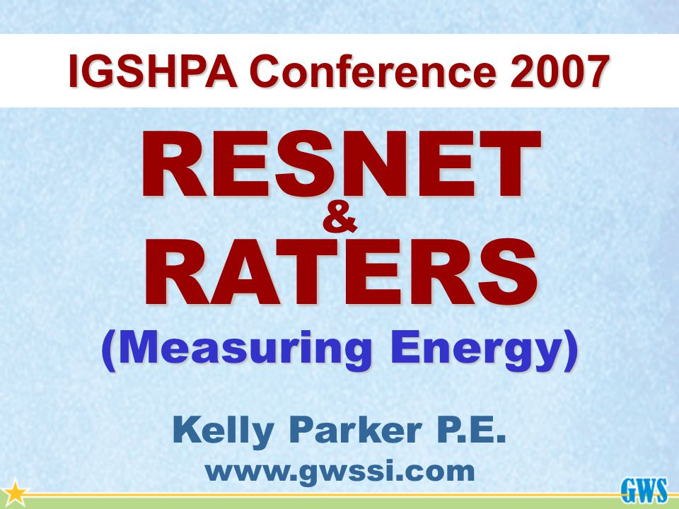 Residential Energy Star is a product of the Environmental Protection Agency Energy Star is 15% above IECC 2004 Energy Star has two methods of Certification for a home.