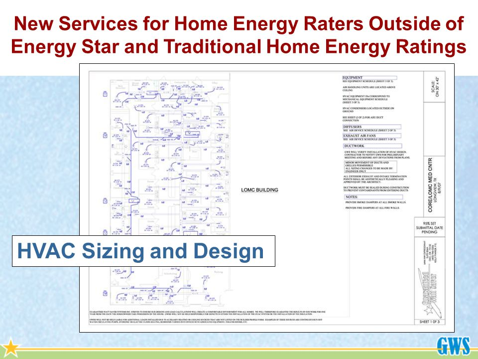 HVAC Sizing and Design
