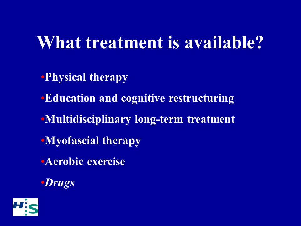 What treatment is available.