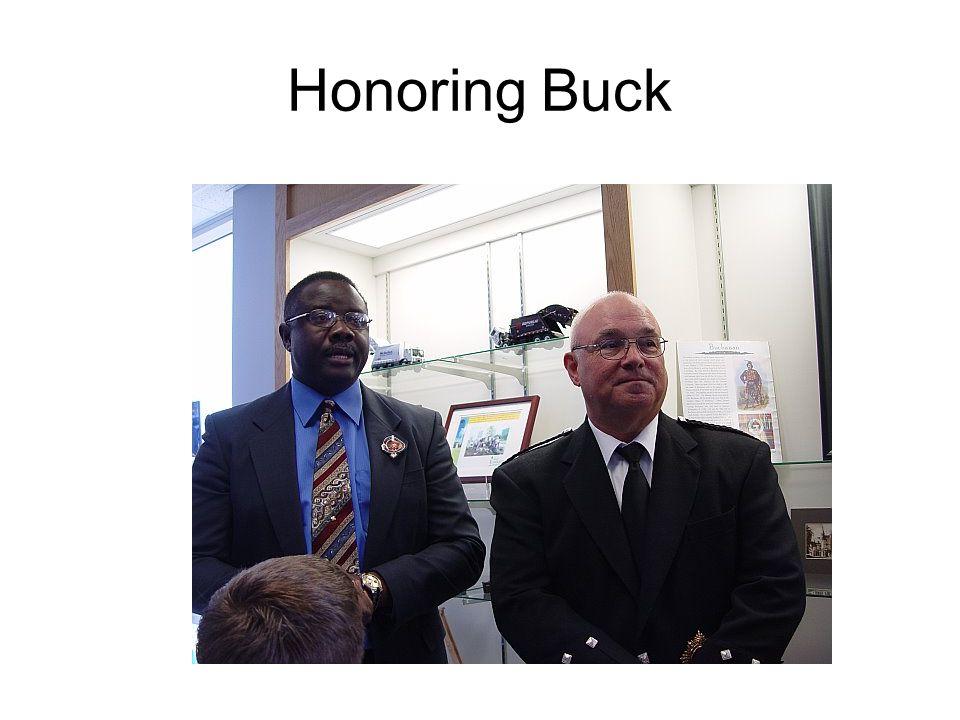 Honoring Buck