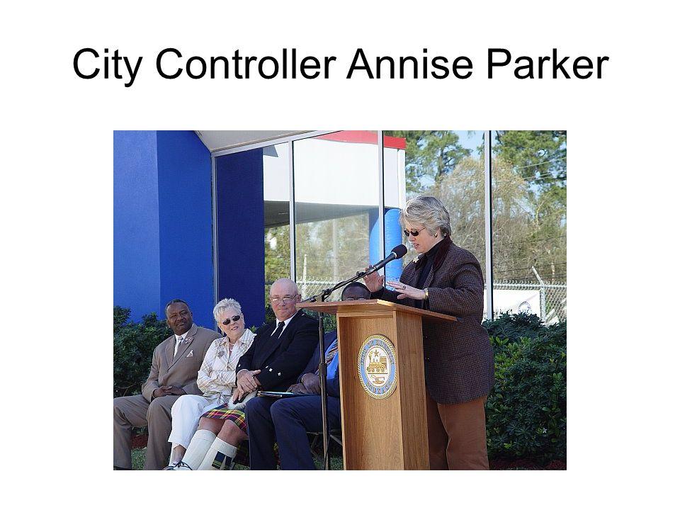 City Controller Annise Parker