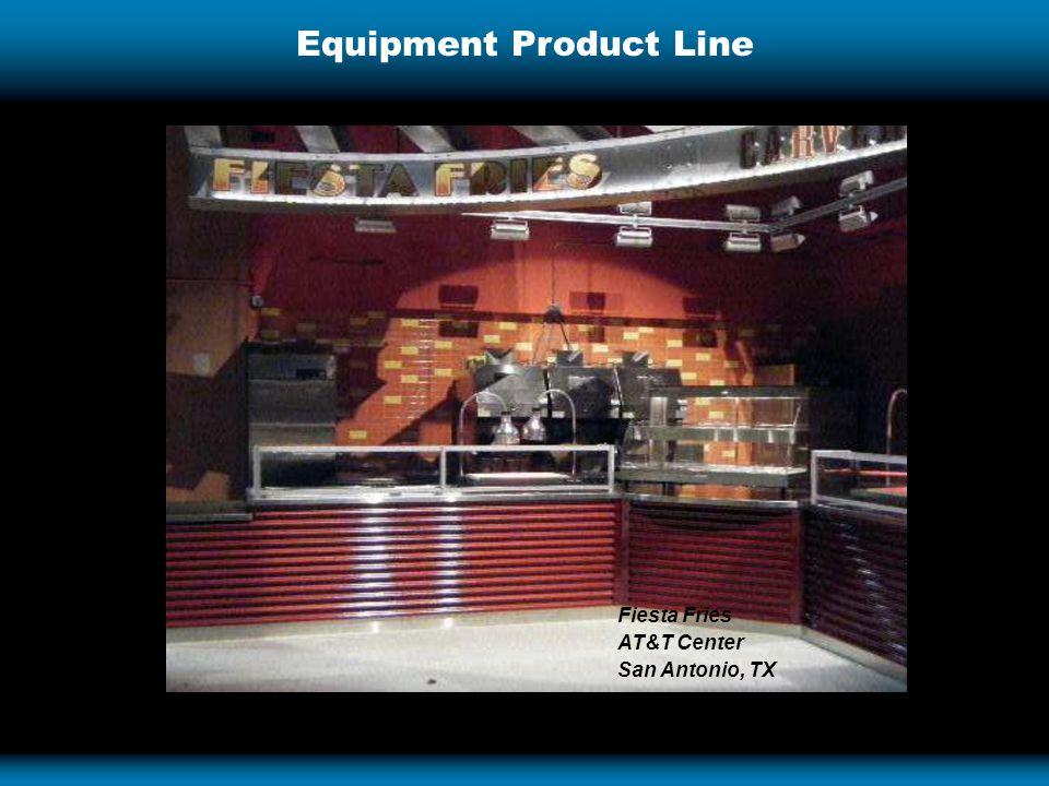 Equipment Product Line Fiesta Fries AT&T Center San Antonio, TX