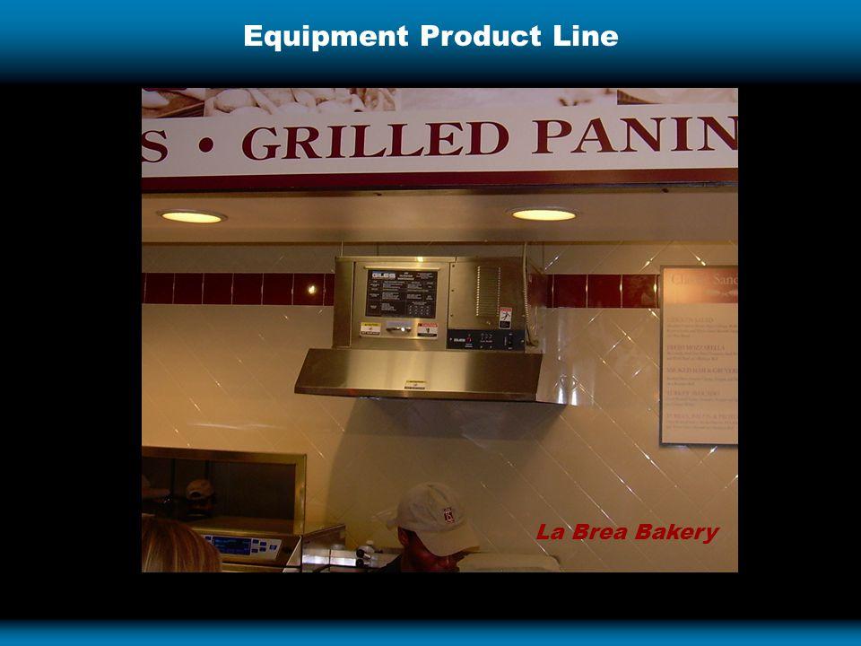 Equipment Product Line La Brea Bakery