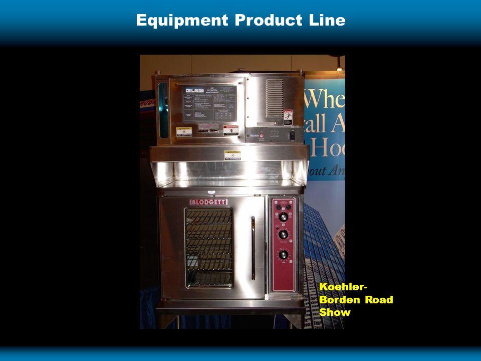 Equipment Product Line Koehler- Borden Road Show