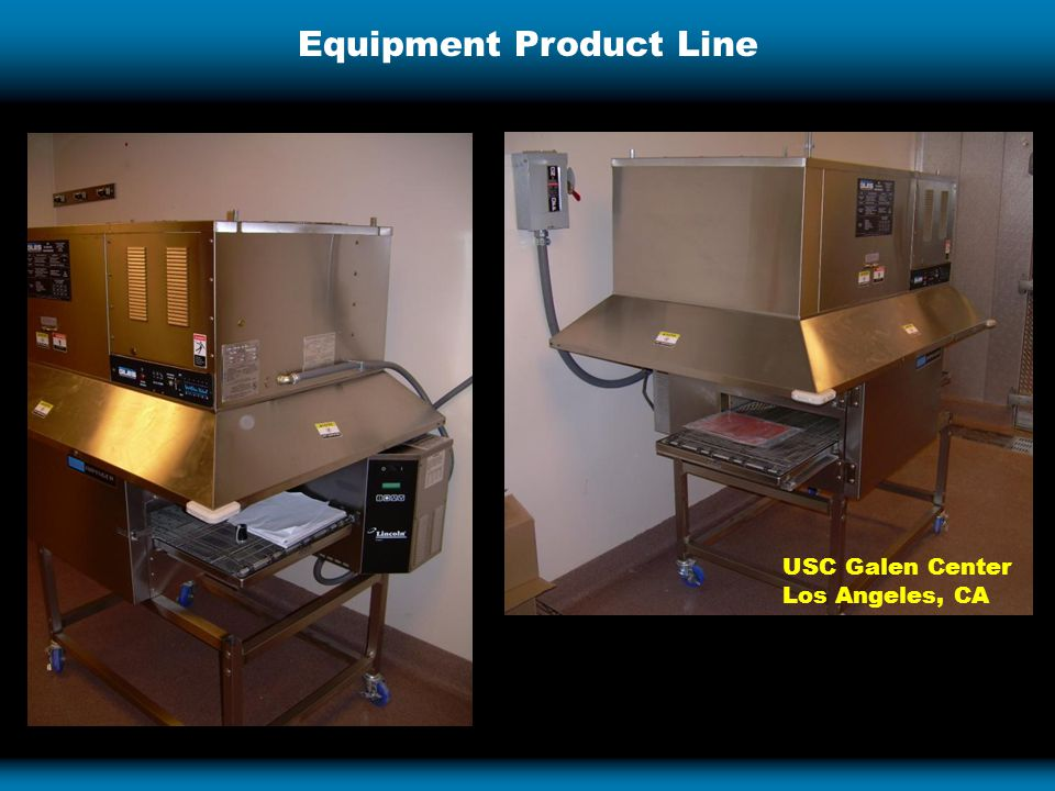 Equipment Product Line USC Galen Center Los Angeles, CA