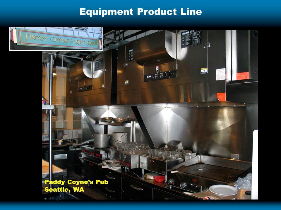 Equipment Product Line Paddy Coyne's Pub Seattle, WA
