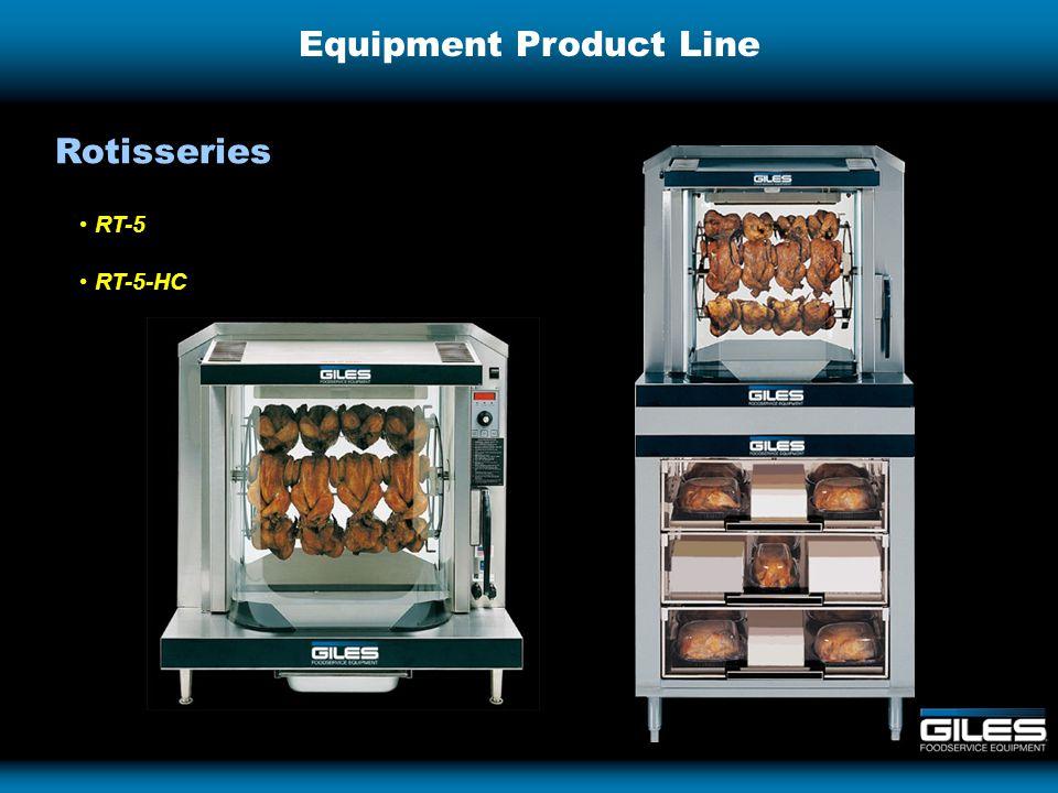 Equipment Product Line RT-5 RT-5-HC Rotisseries