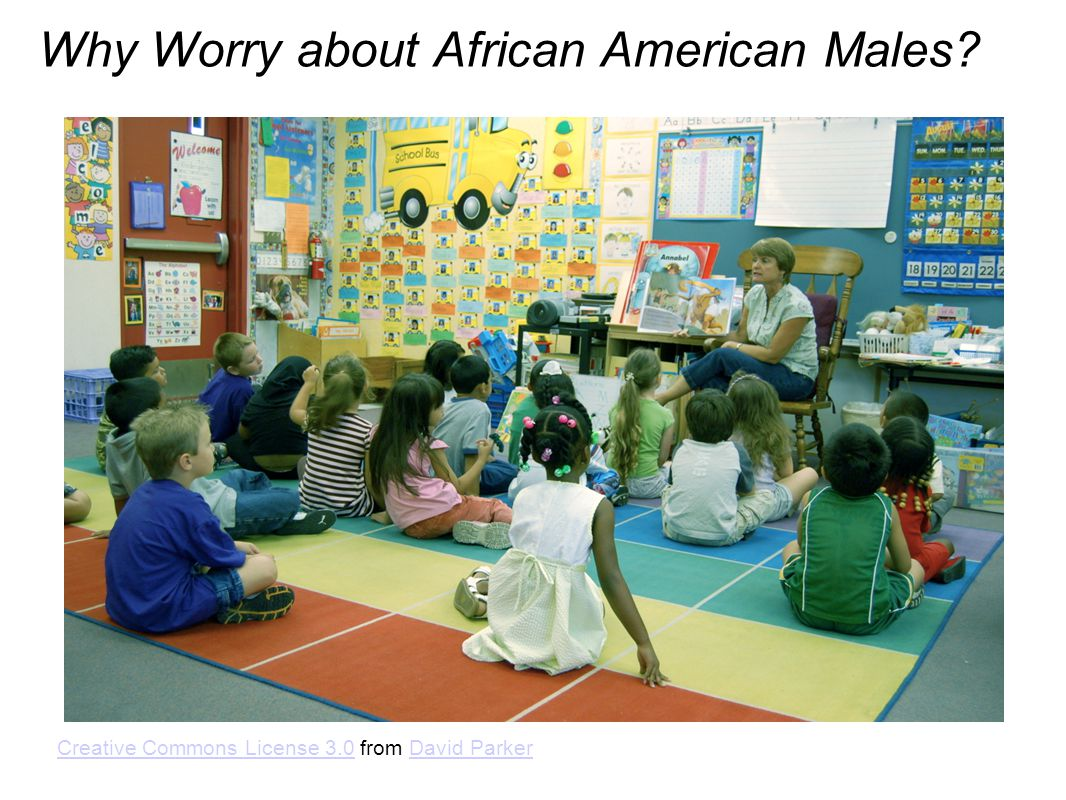 Why Worry about African American Males.
