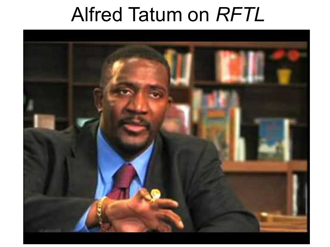 Alfred Tatum on RFTL